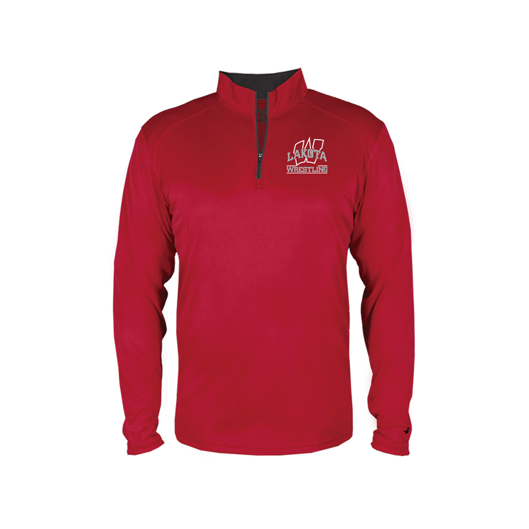 Lakota West Wrestling PARENTS - Badger B-Core 1/4 Zip