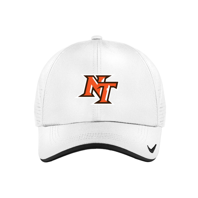 National Trail Athletics - Nike Dri-FIT Swoosh Perforated Cap (White)