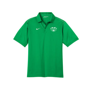 Badin Athletics Spring 2021 - Nike Dri-FIT Sport Swoosh Pique Polo (Lucky Green)