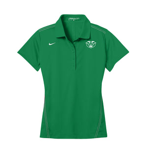 Badin Athletics Spring 2021 - Nike Ladies Dri-FIT Sport Swoosh Pique Polo (Lucky Green)