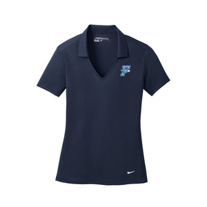 Fairborn Athletics - Nike Women's Dri-Fit Vertical Mesh Polo (Marine)