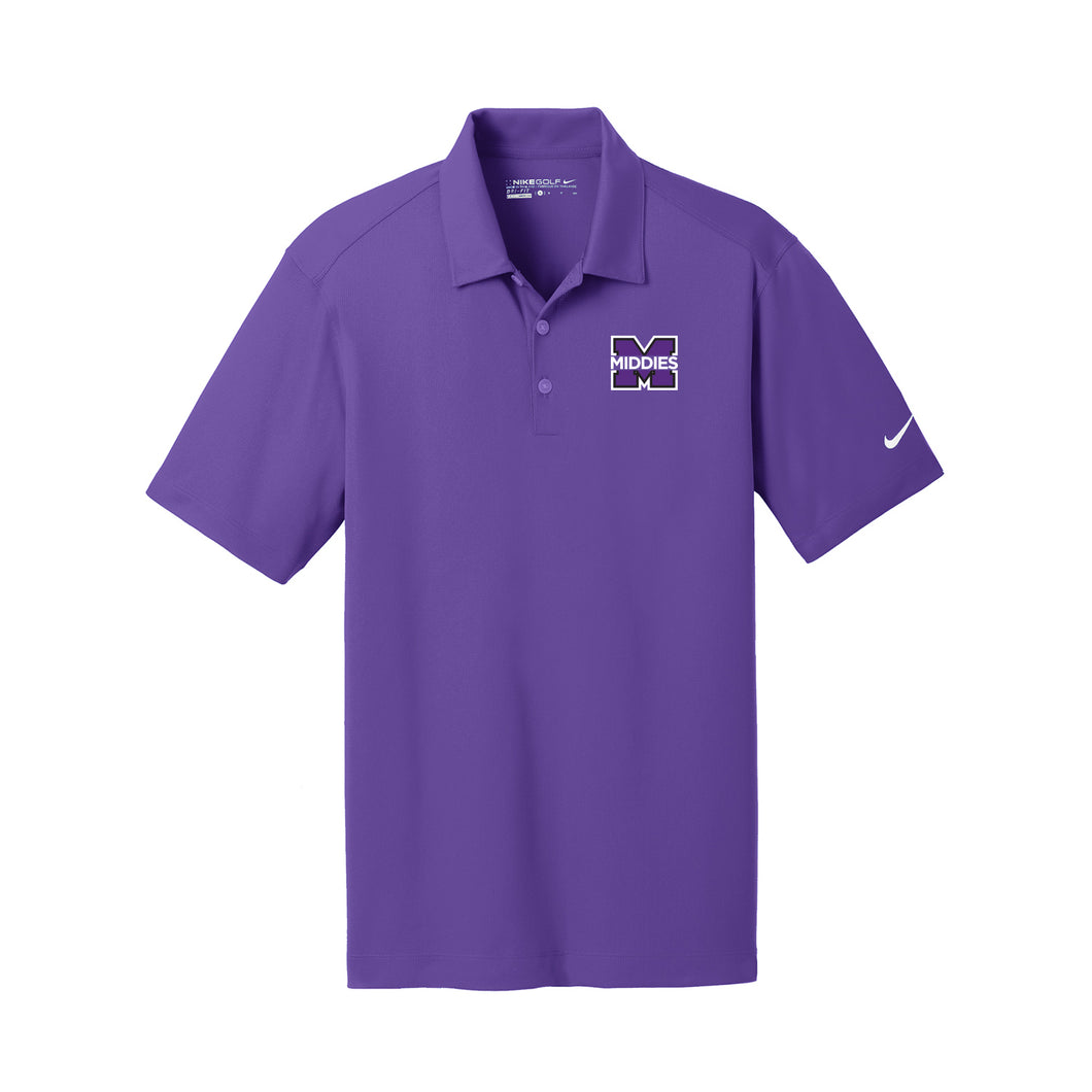 Middletown Athletics - Nike Dri-Fit Vertical Mesh Polo (Court Purple)