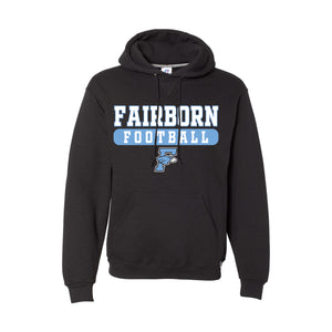 Fairborn Football 2020 - Russell Dri Power Fleece Hoodie (Black)
