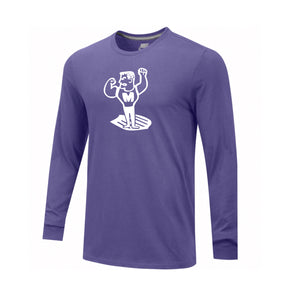 Middletown Athletics - Middie Man Nike Core LS Crew (Purple)