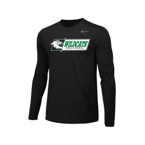 Harrison Volleyball 2020 - Nike Team Legend LS Crew (Black)