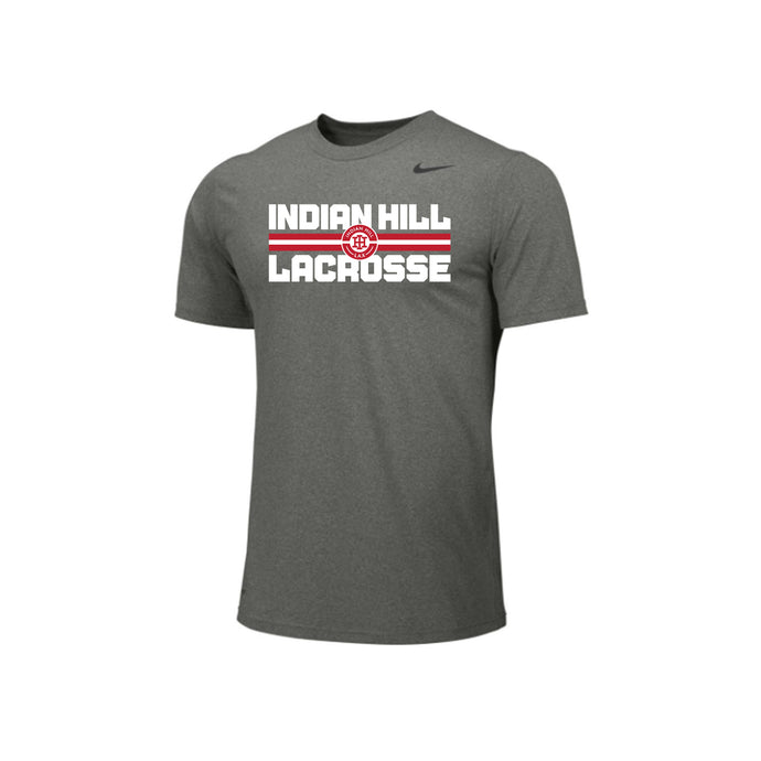 Indian Hill Lacrosse 2021 - Nike Team Legend SS Tee (Carbon Heather)