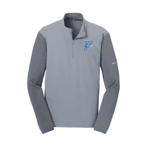 Fairborn Athletics - Nike Dri-FIT 1/2 Zip Cover-Up (Grey)