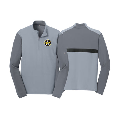 5 Star Baseball - Nike Dr-FIT 1/2 Zip Cover-Up (Cool Grey)