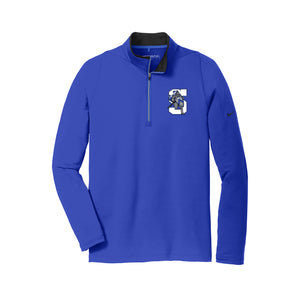 The Summit Volleyball - Nike Dri-FIT Stretch 1/2-Zip Cover-Up (Royal)