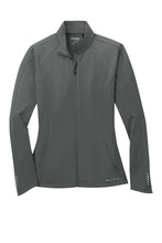 Badin B Basketball Ogio Women's Radius Full Zip