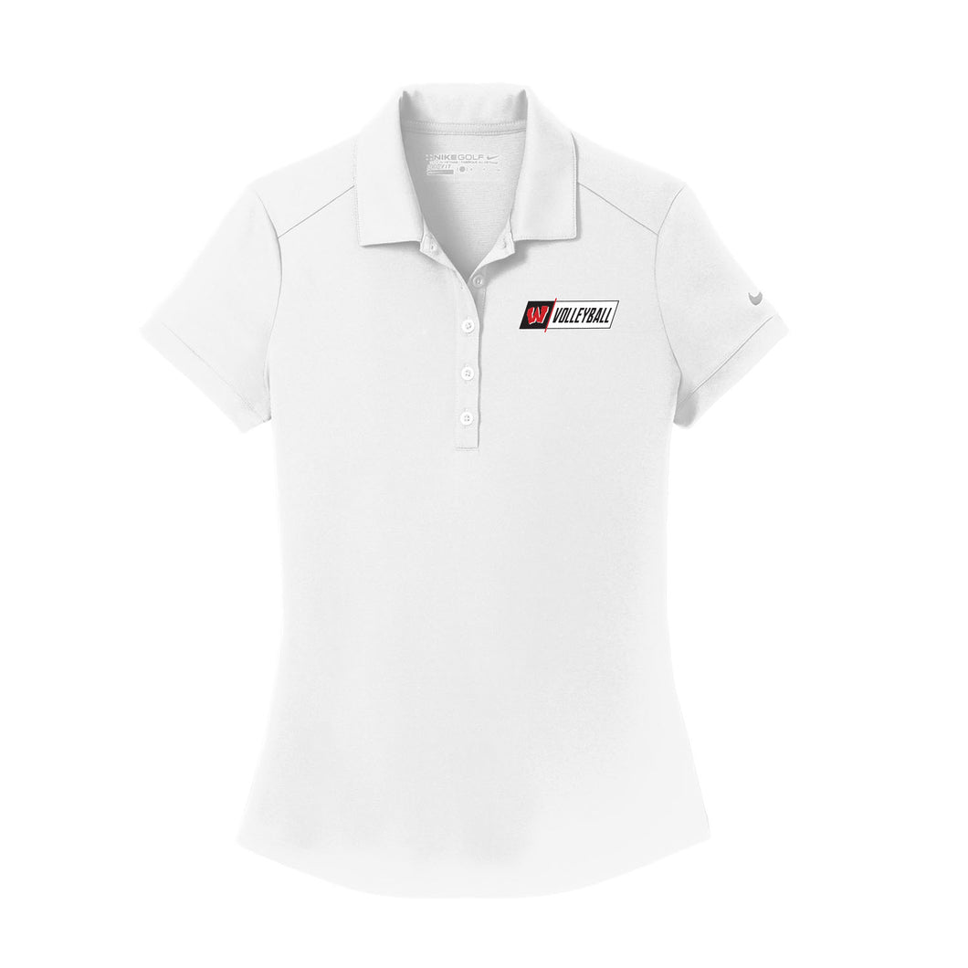 Lakota West Volleyball Nike Ladies Dri-FIT Players Modern Fit Polo