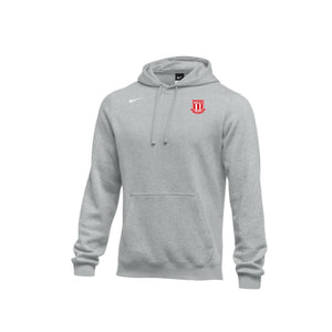 West Soccer 2020 - Nike Club Hoodie (Grey Heather)
