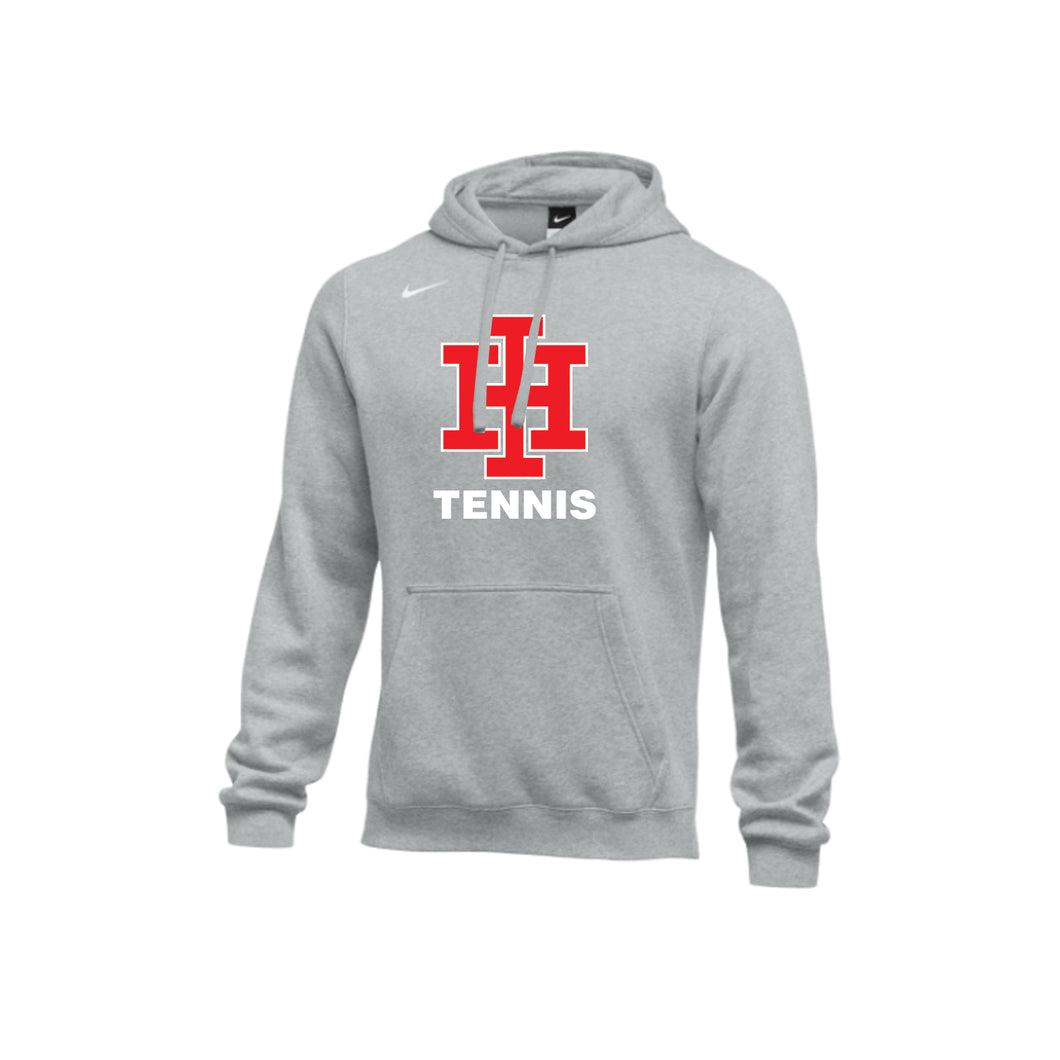 Indian Hill Tennis - Nike Club Men's Training Hoodie (Heather Gray)