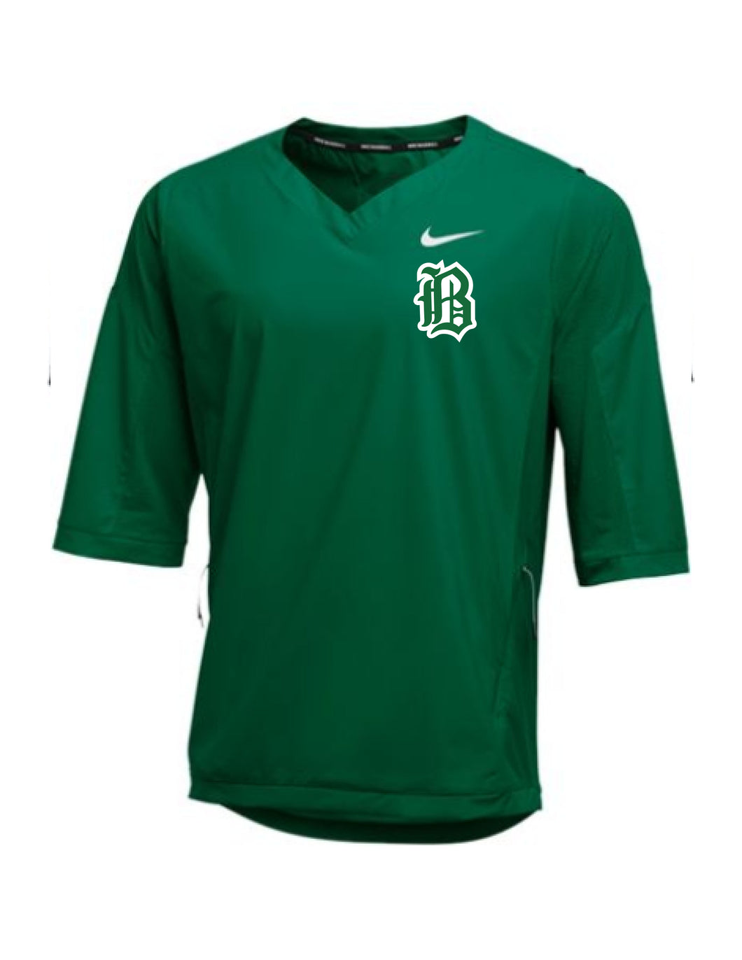 Badin Baseball - Nike 3/4 Hot Jacket (Green)