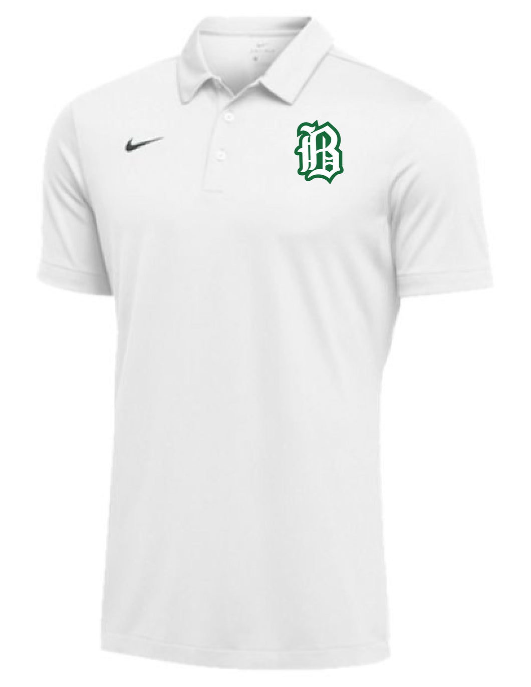 Badin Baseball - Nike Team Polo (White)