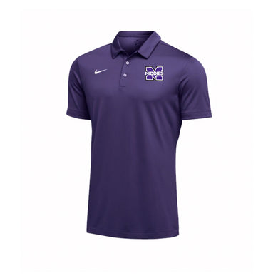 Middletown Athletics - Nike Men's Team Polo (Purple)