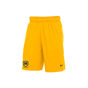 Moeller Lacrosse - Nike Flex Short Woven 2.0 (Bright Gold)