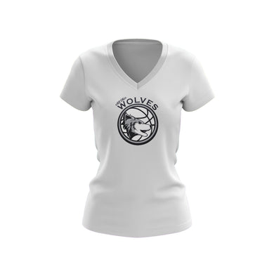 All Ohio Wolves Ladies V-Neck Tee