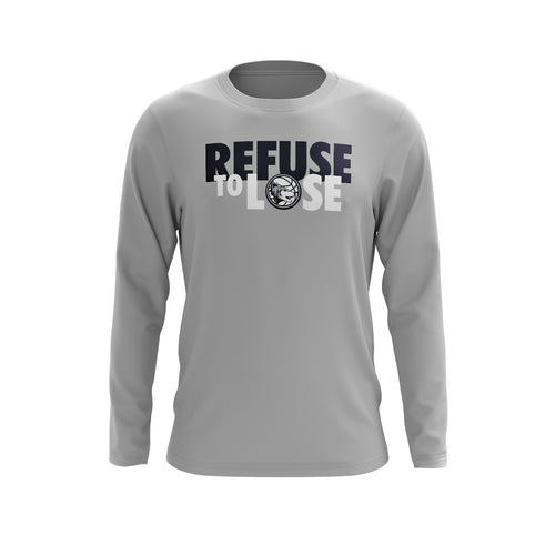 All Ohio Wolves Refuse to Lose Long Sleeve Tee