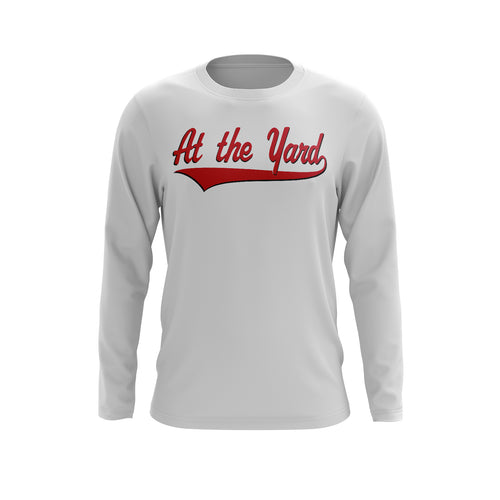 At The Yard Script Long Sleeve Tee