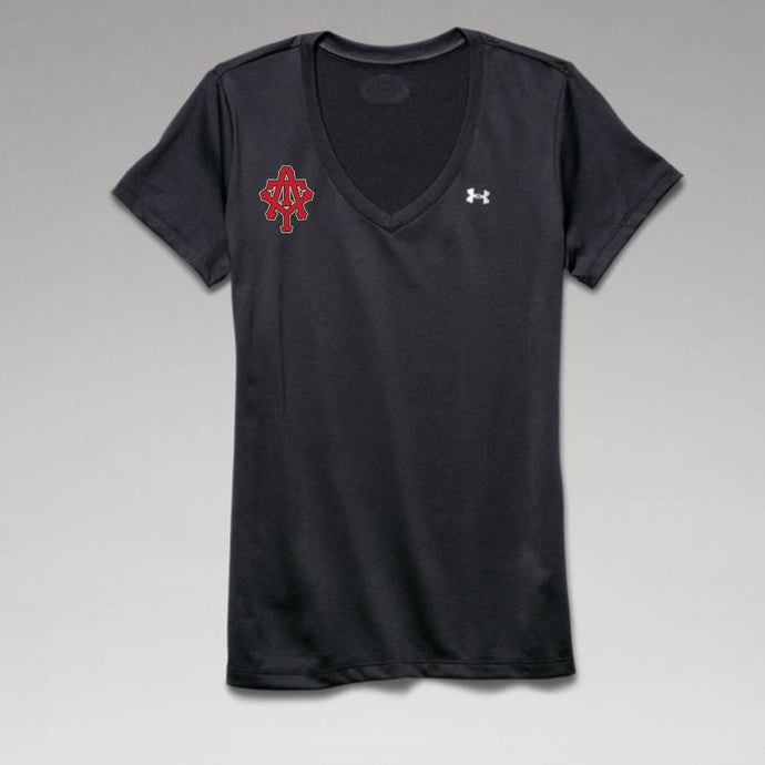 At The Yard UA Ladies Tech V-Neck