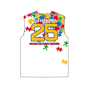 HDLNS Autism Awareness Jersey (White)