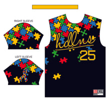 HDLNS Autism Awareness Jersey (Black)