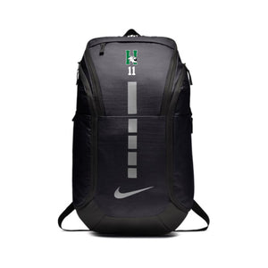 Harrison Boys Soccer - NIKE HOOPS ELITE PRO BACKPACK (BLACK/BLACK/MTLC COOL GREY)