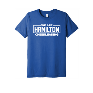 Hamilton Cheer Triblend SS Tee (True Royal)