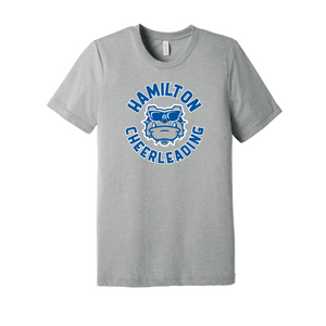Hamilton Cheer Triblend SS Tee (Ath Grey)