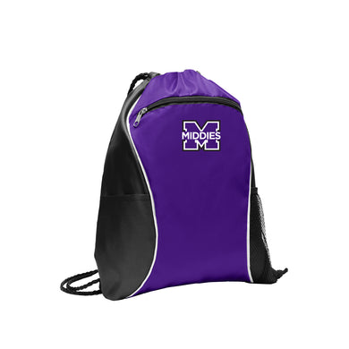 Middletown Athletics - Fast Break Cinch Pack (Purple)