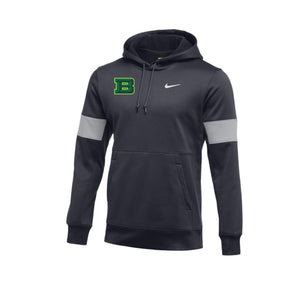 Badin Athletics - Nike Therma Hoodie (Anthracite)