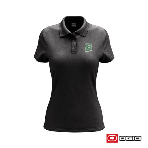 Badin B Basketball Ogio Women's Glam Polo