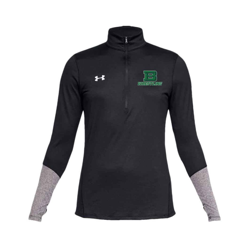 Badin Wrestling UA Women's Locker 1/2 Zip