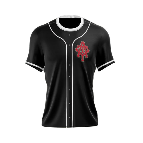 At The Yard Full Sublimated Jersey (Black Full Button)