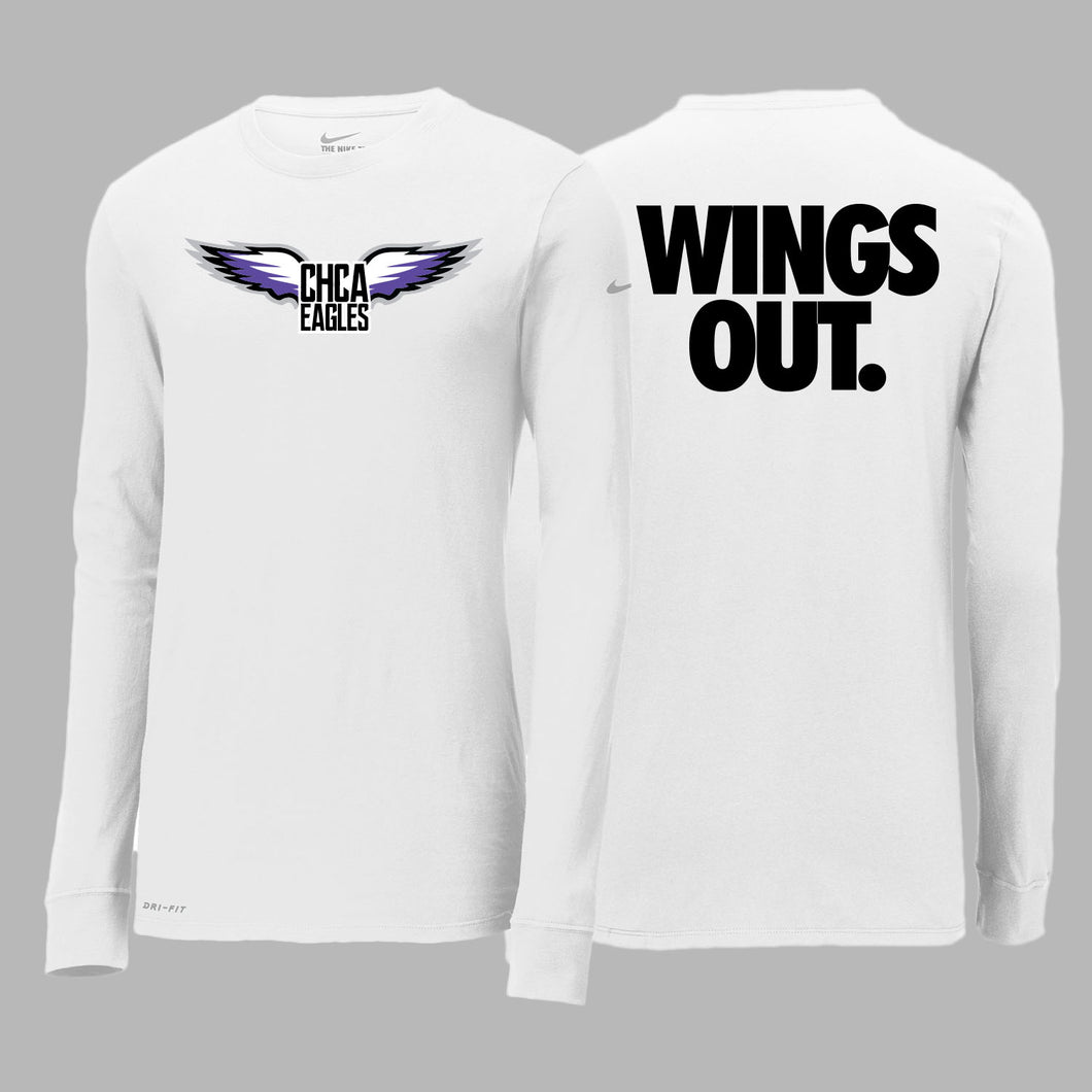 CHCA Basketball Nike Dri-Fit LS Tee
