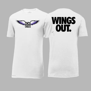 CHCA Basketball Nike Short Sleeve Tee