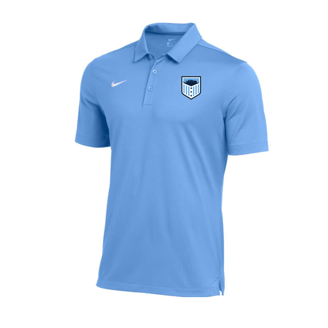 G7A Lacrosse - Nike Dry Franchise Polo (Valor Blue)