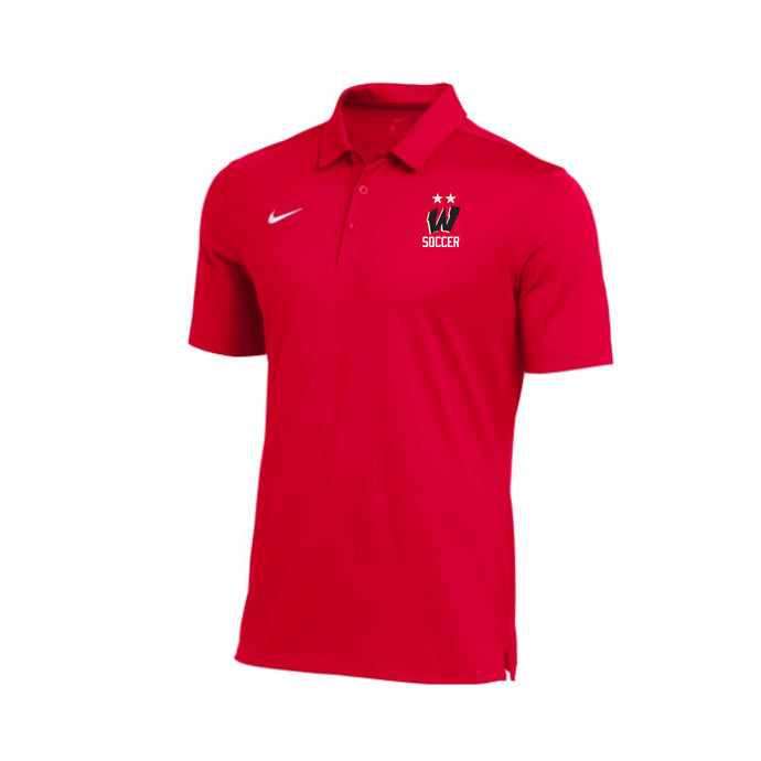 West Soccer 2020 - Nike Franchise Polo (Red)