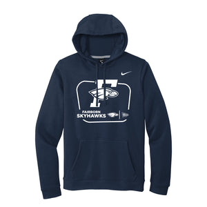 Fairborn Athletics - Nike Club Men's Training Hoodie (Navy)