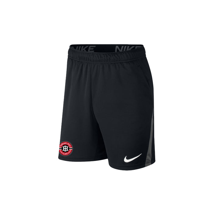 Indian Hill Lacrosse 2021 - Nike Dri-FIT Knit Shorts (Black)