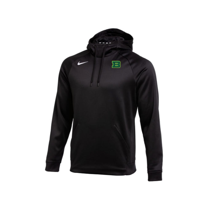 Badin Athletics Spring 2021 - Nike Therma-FIT Hooded Pullover (Black)