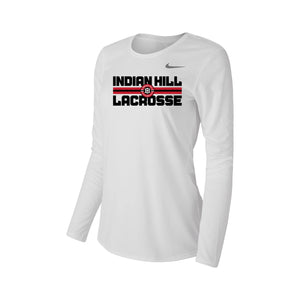Indian Hill Lacrosse 2021 - Nike Legend Women's Long Sleeve Tee (White)