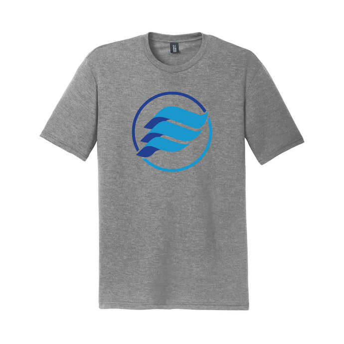 E-Wave Triblend Tee (Grey)