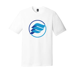 E-Wave Triblend Tee (White)