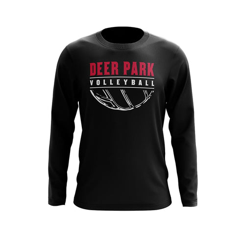 Deer Park Volleyball Long Sleeve Tee