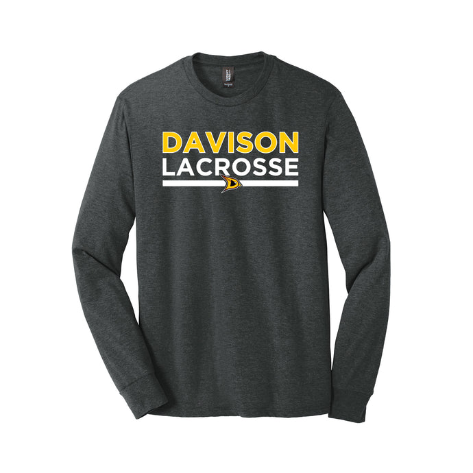 Davison Lacrosse 2021 - Perfect Tri Long Sleeve Tee (Black Frost)