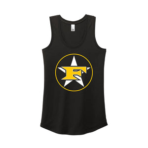 5 Star Baseball - Women's Triblend Racerback Tank (Black)