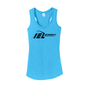IEL - Women's Perfect Tri Racerback Tank (Turquoise Frost)