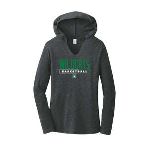 Harrison Girls Basketball 2020 - Women's Perfect Tri Long Sleeve Hoodie (Black Frost)
